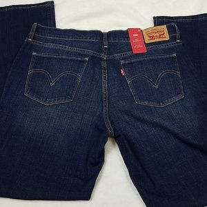 NWT Levi's 515 Mid Rise Bootcut Jeans